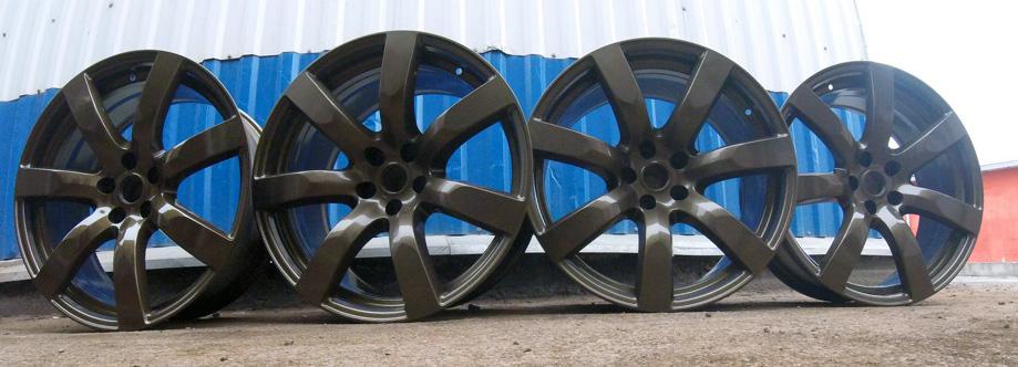Порошковая окраска дисков ALEKS AUTO